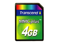 Transcend 4GB High Speed MMC - TS4GMMC4