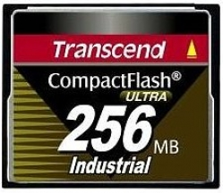 Transcend 256MB Industrial CF Card (100X) - TS256MCF100I