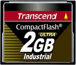 Transcend 2GB Industrial CF Card (100X)  - TS2GCF100I