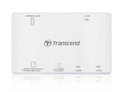 Transcend Multi Card Reader P7 USB2.0 (white) - TS-RDP7W