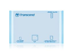 Transcend Multi Card Reader P8 USB2.0 (Aqua) - TS-RDP8A