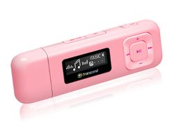 Transcend 4GB Flash MP3 Player T-Sonic 330 Pink - TS4GMP330R