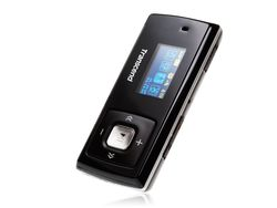 Transcend 4GB Flash MP3 Player T-Sonic 650   - TS4GMP650