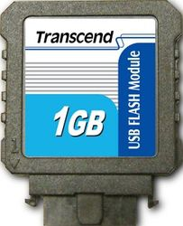 Transcend 1GB USB Flash Module (Vertical) - TS1GUFM-V