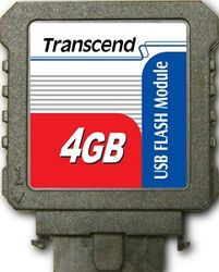 Transcend 4GB USB Flash Module (Vertical) - TS4GUFM-V