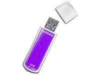 Transcend 8GB USB 2.0 JetFlash V60 (Purple) - TS8GJFV60