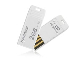 Transcend 2GB USB 2.0 JetFlash T3 (White) - TS2GJFT3W