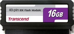 Transcend 16GB IDE 40PIN Vertical Low-Profile - TS16GPTM510-40V (TS16GDOM40V-S)