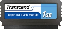 Transcend 1GB IDE 40PIN Vertical Low-Profile - TS1GDOM40V-S (TS1GPTM520)