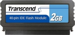 Transcend 2GB IDE 40PIN Vertical Low-Profile - TS2GDOM40V-S (TS2GPTM510-40V, TS2GPTM520)