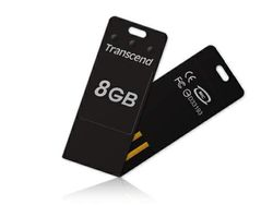 Transcend 8GB USB 2.0 JetFlash T3 (Black) - TS8GJFT3K