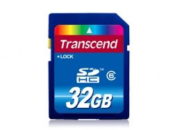 Transcend 32G SDHC (Class 6) - TS32GSDHC6