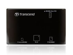 Transcend Multi Card Reader P8 USB2.0 (Black) - TS-RDP8K