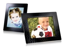 "Transcend 8"" Digital Photo Frame 2GB - Black (no crystal) - TS2GPF810B"