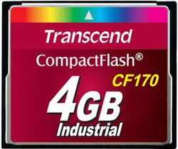 Transcend 4GB CF Card (170X) - TS4GCF170
