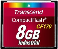 Transcend 8GB CF Card (170X) - TS8GCF170