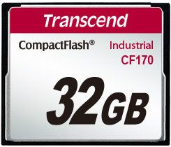 Transcend 32GB CF Card (170X) - TS32GCF170