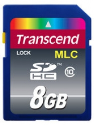 Transcend 8GB Industrial SDHC (Class 10) - TS8GSDHC10M