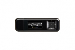 Transcend 8GB Flash MP3 Player T-Sonic 330 Black - TS8GMP330K