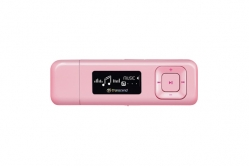 Transcend 8GB Flash MP3 Player T-Sonic 330 Pink - TS8GMP330P