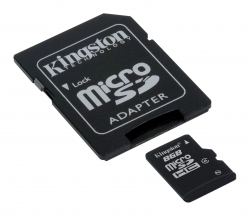 Kingston 8GB microSDHC (Class 4) - SDC4/8GB