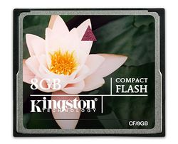 Kingston 8GB CompactFlash - CF/8GB