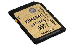 Kingston 64GB SDXC Class 10 UHS-I Ultimate (R/W 90/45 MB/s) - SDA10/64GB