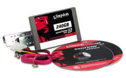 "Kingston 240GB SSDNow V300 (7mm) SATA3 2.5"" Desktop Bundle - SV300S3D7/240G"