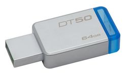 Kingston 64GB USB 3.0 DataTraveler 50 - DT50/64GB