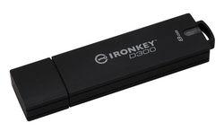 Kingston 8GB USB 3.0 Ironkey D300 - IKD300/8GB