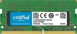 Micron Crucial 4GB 2400MHz DDR4 Non-ECC CL17 SO-DIMM 1Rx8 - CT8G4SFS824A
