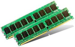 Transcend 2GB Kit (2x1GB) 667MHz DDR2 ECC DIMM for IBM - TS2GIB2729