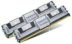 Transcend 1GB Kit (2x512MB) 667MHz DDR2 ECC FB DIMM for NEC - TS1GNEFS22
