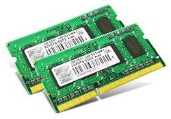 Transcend JetMemory 8GB Kit (2x4GB) 1600MHz DDR3 SR x8 SO-DIMM for Apple - TS8GJMA424H