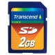 Transcend 2GB Secure Digital - TS2GSDC