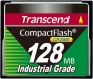 Transcend 128MB Industrial CF Card (200X)  - TS128MCF200I