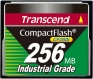 Transcend 256MB Industrial CF Card (200X) - TS256MCF200I
