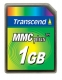 Transcend 1GB High Speed MMC - TS1GMMC4