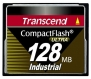 Transcend 128MB Industrial CF Card (100X)  - TS128MCF100I