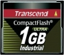 Transcend 1GB Industrial CF Card (100X)  - TS1GCF100I