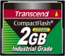Transcend 2GB Industrial CF Card (200X)  - TS2GCF200I