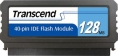 Transcend 128MB IDE 40PIN Vertical Low-Profile - TS128MDOM40V-S (TS128MPTM520)