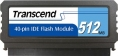 Transcend 512MB IDE 40PIN Vertical Low-Profile - TS512MDOM40V-S (TS512MPTM520)