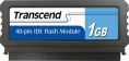 Transcend 1GB IDE 40PIN Vertical Low-Profile - TS1GDOM40V-S