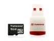 Transcend 16GB microSDHC with USB Card Reader - TS16GUSDHC6-P3