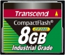Transcend 8GB Industrial CF Card (200X)  - TS8GCF200I