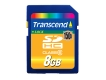 Transcend 8GB Ultimate SDHC Card (150X Class 6) SLC - TS8GSDHC150