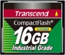 Transcend 16GB Industrial CF Card (200X) - TS16GCF200I