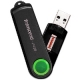 Transcend 16GB USB 2.0 JetFlash 220 (Green), Fingerprint Pen Drive - TS16GJF220