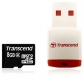 Transcend 8GB microSDHC Class 2 with Card Reader - TS8GUSDHC2-P3